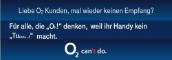O2 can't do, meint die Telekom