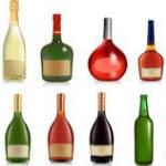 volle Flaschen