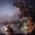 In einem seiner wenigen bekannten Werke bebildert Rembrandt, wie sich Europa von ACTA entfernt