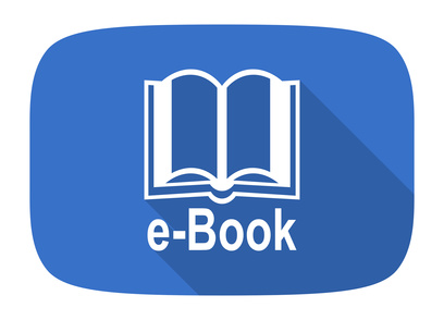 book flat design modern icon