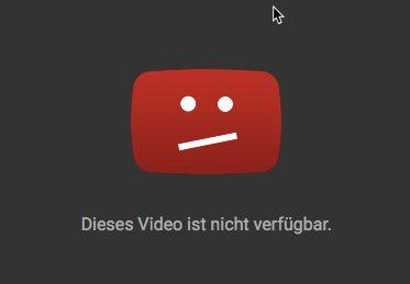 Verbot gegen YouTube-Werbe-Video einer