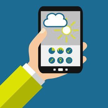 DWD Wetter-App WetterOnline LG Bonn