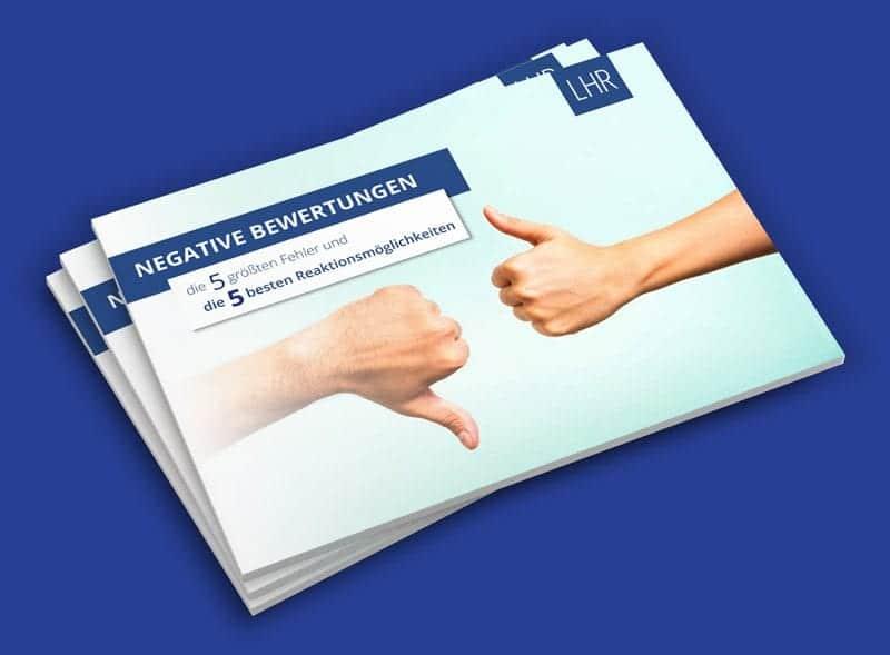 Negative Bewertungen - Fehler und Reaktion eBook