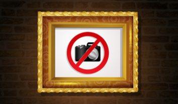 Verstößt das Fotografieren im Museum gegen das Hausrecht? Sind Fotos von gemeinfreien Gemälden urheberrechtlich geschützt?