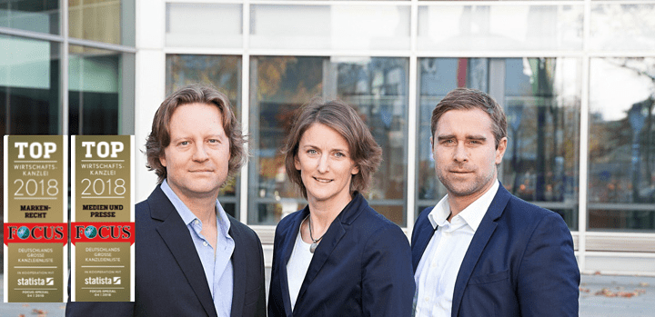"""Erneut gewählt: Die Kanzlei LHR gehört auch 2018 zu Deutschlands """"Top-Wirtschaftskanzleien"""""""