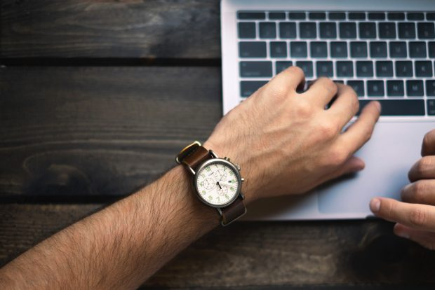 Registrierung Armbanduhren