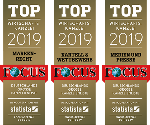 FOCUS Top Commercial Law Firm 2017 and 2018