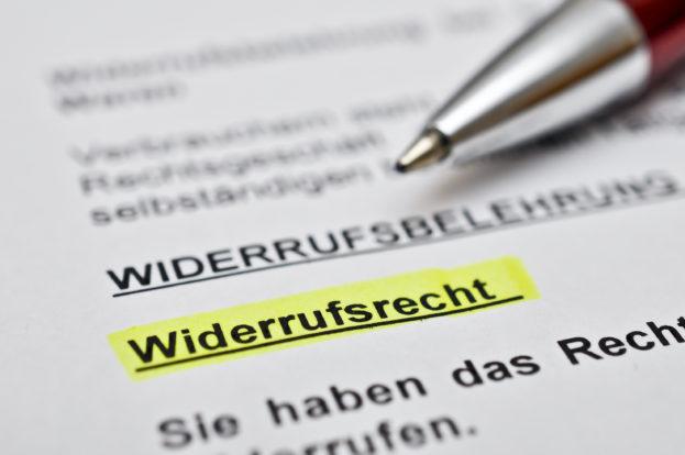 Rechtens: Anderes Produkt, andere Widerrufsbelehrung